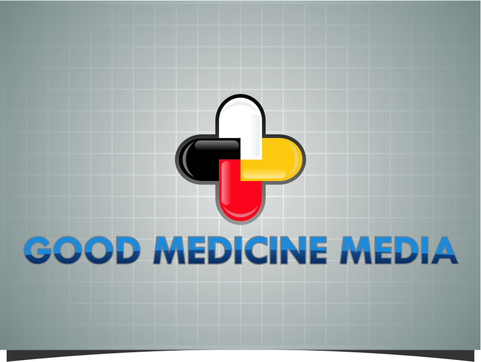Logo Design by RasYa Muhammad Athaya - Entry No. 272 in the Logo Design Contest Good Medicine Media Logo Design.
