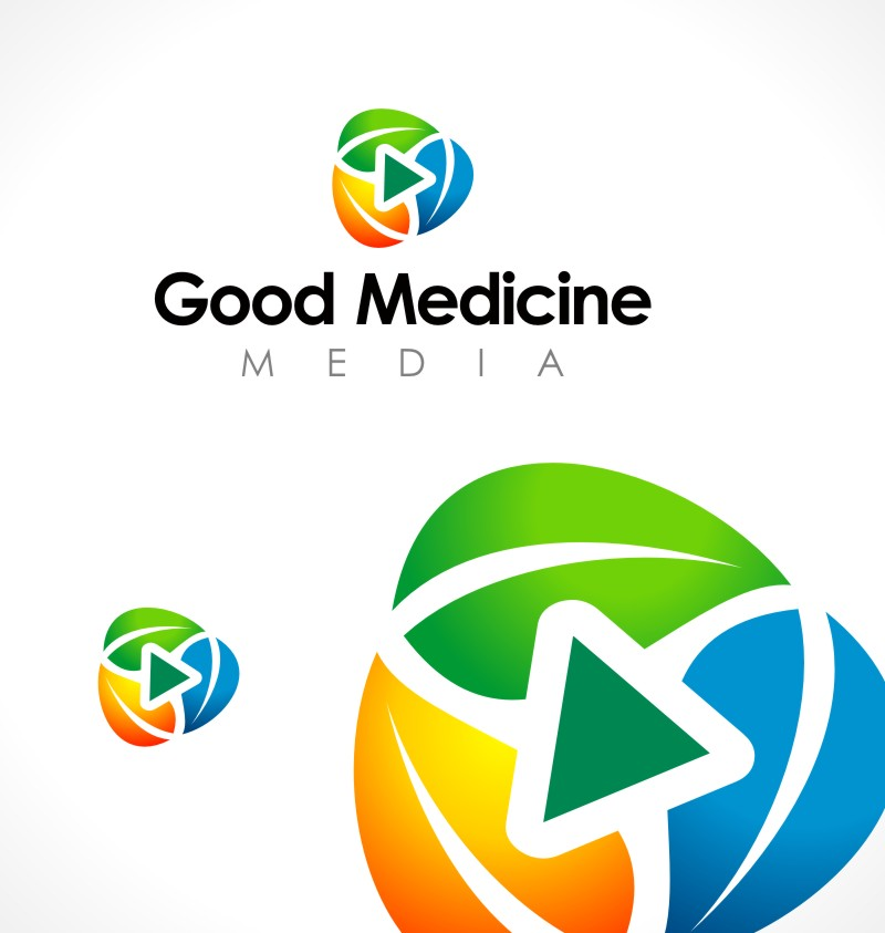 Logo Design by Private User - Entry No. 274 in the Logo Design Contest Good Medicine Media Logo Design.