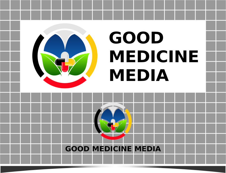 Logo Design by Ngepet_art - Entry No. 278 in the Logo Design Contest Good Medicine Media Logo Design.