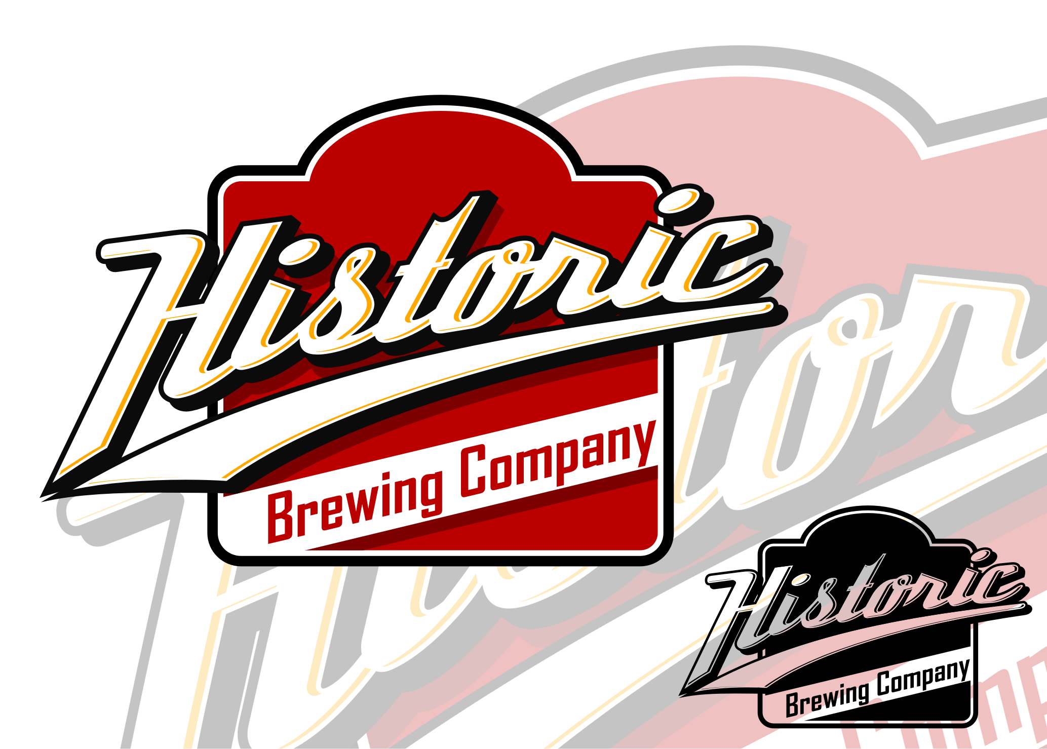 Logo Design by Tille Famz - Entry No. 15 in the Logo Design Contest Unique Logo Design Wanted for Historic Brewing Company.