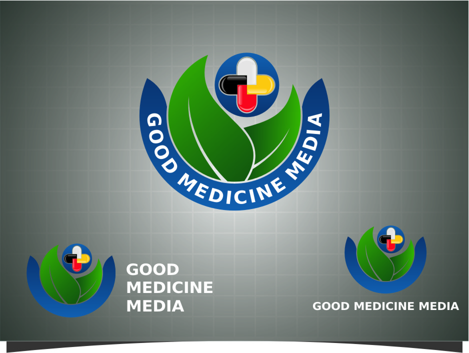 Logo Design by Ngepet_art - Entry No. 280 in the Logo Design Contest Good Medicine Media Logo Design.
