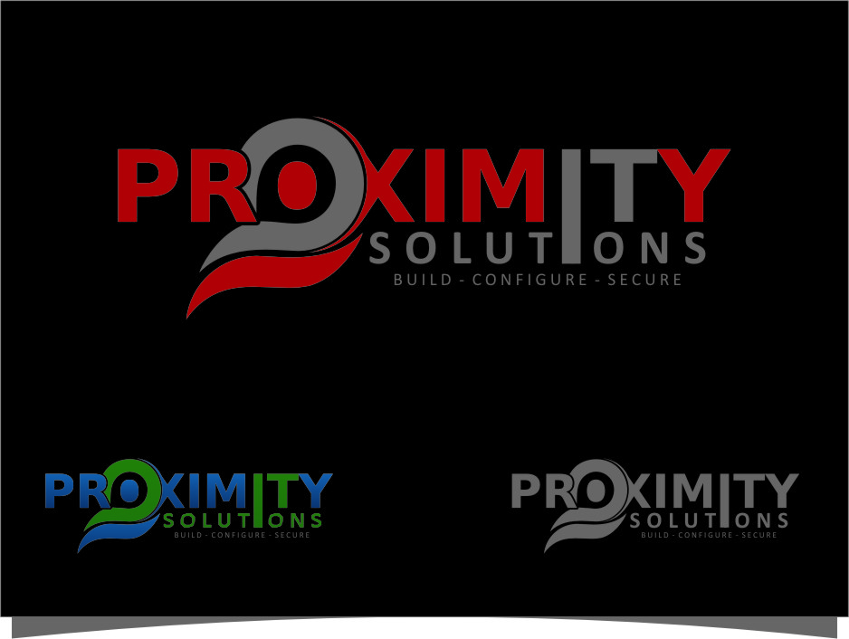 Logo Design by RasYa Muhammad Athaya - Entry No. 152 in the Logo Design Contest New Logo Design for Proximity Solutions.