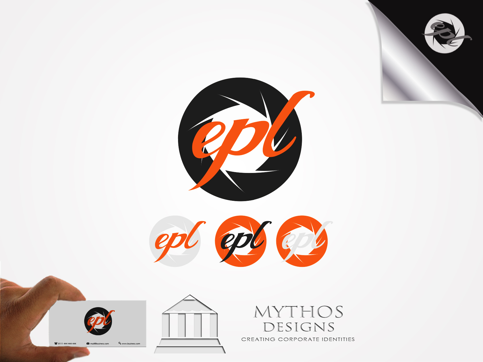 Logo Design by Mythos Designs - Entry No. 88 in the Logo Design Contest New Logo Design for EPL Event Photography.