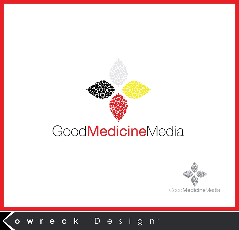 Logo Design by kowreck - Entry No. 283 in the Logo Design Contest Good Medicine Media Logo Design.