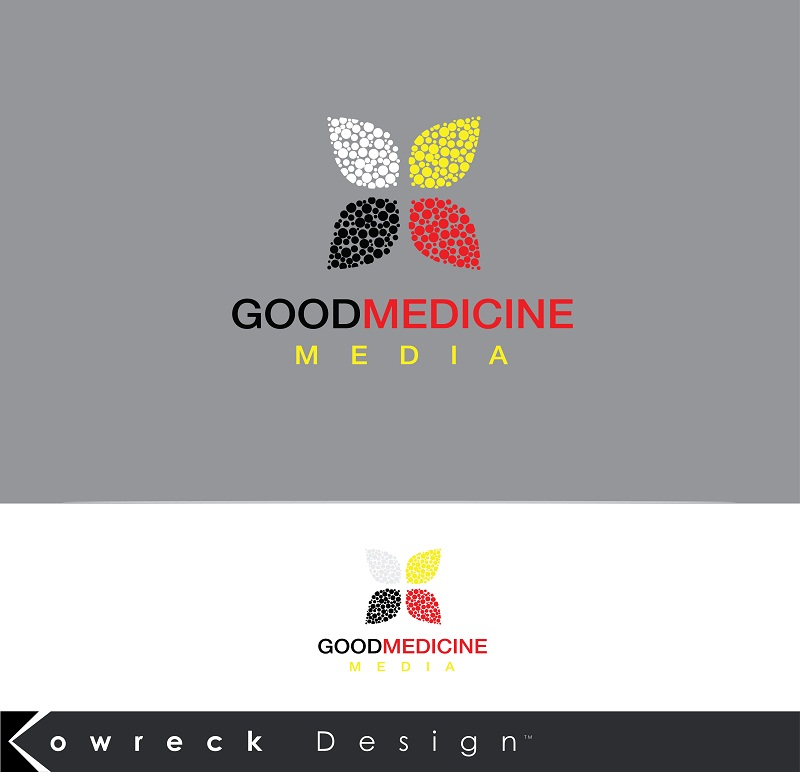 Logo Design by kowreck - Entry No. 285 in the Logo Design Contest Good Medicine Media Logo Design.