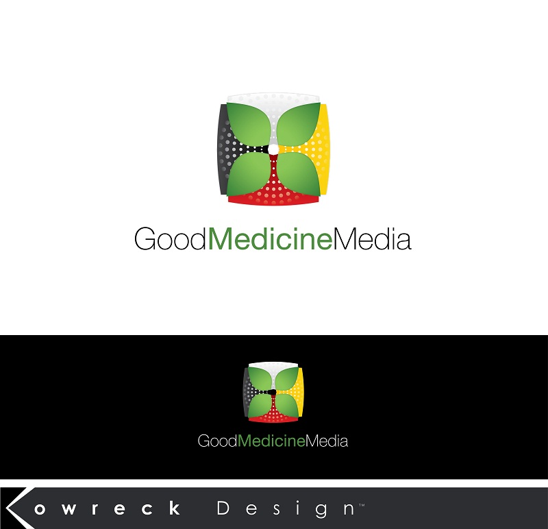 Logo Design by kowreck - Entry No. 286 in the Logo Design Contest Good Medicine Media Logo Design.