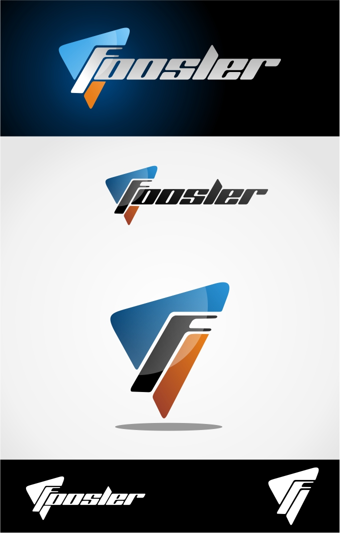 Logo Design by X_Zhire - Entry No. 34 in the Logo Design Contest Foosler Logo Design.