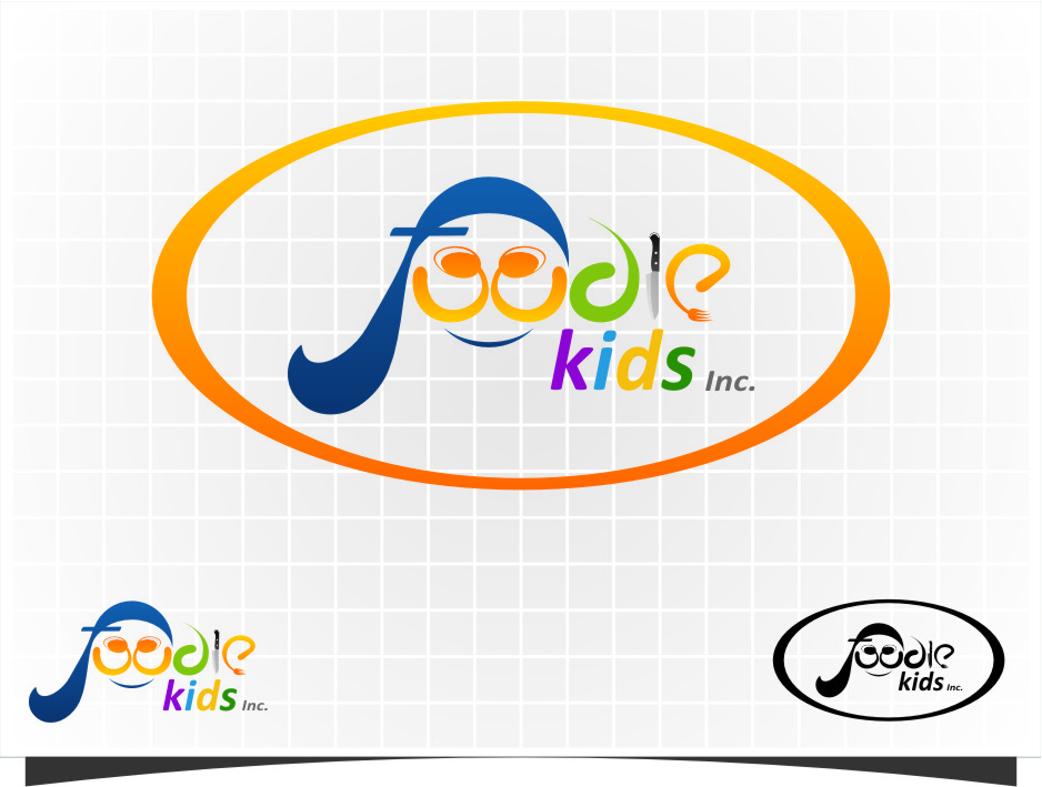 Logo Design by RasYa Muhammad Athaya - Entry No. 4 in the Logo Design Contest New Logo Design for Foodie Kids Inc..
