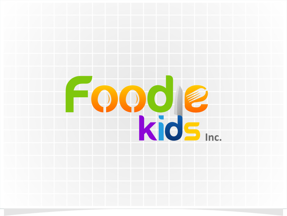 Logo Design by Ngepet_art - Entry No. 5 in the Logo Design Contest New Logo Design for Foodie Kids Inc..