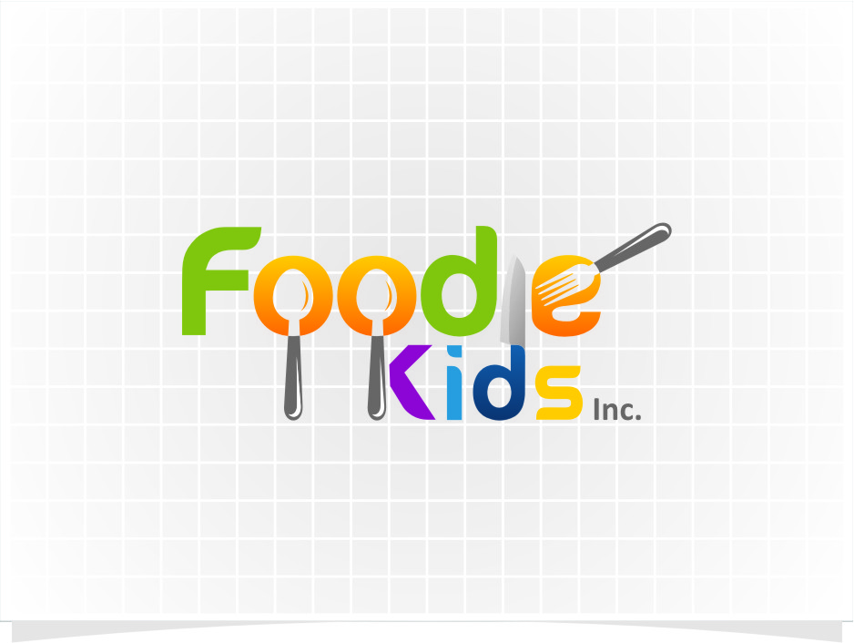 Logo Design by RasYa Muhammad Athaya - Entry No. 6 in the Logo Design Contest New Logo Design for Foodie Kids Inc..