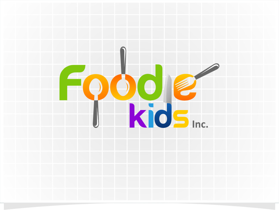 Logo Design by RoSyid Rono-Rene On Java - Entry No. 7 in the Logo Design Contest New Logo Design for Foodie Kids Inc..