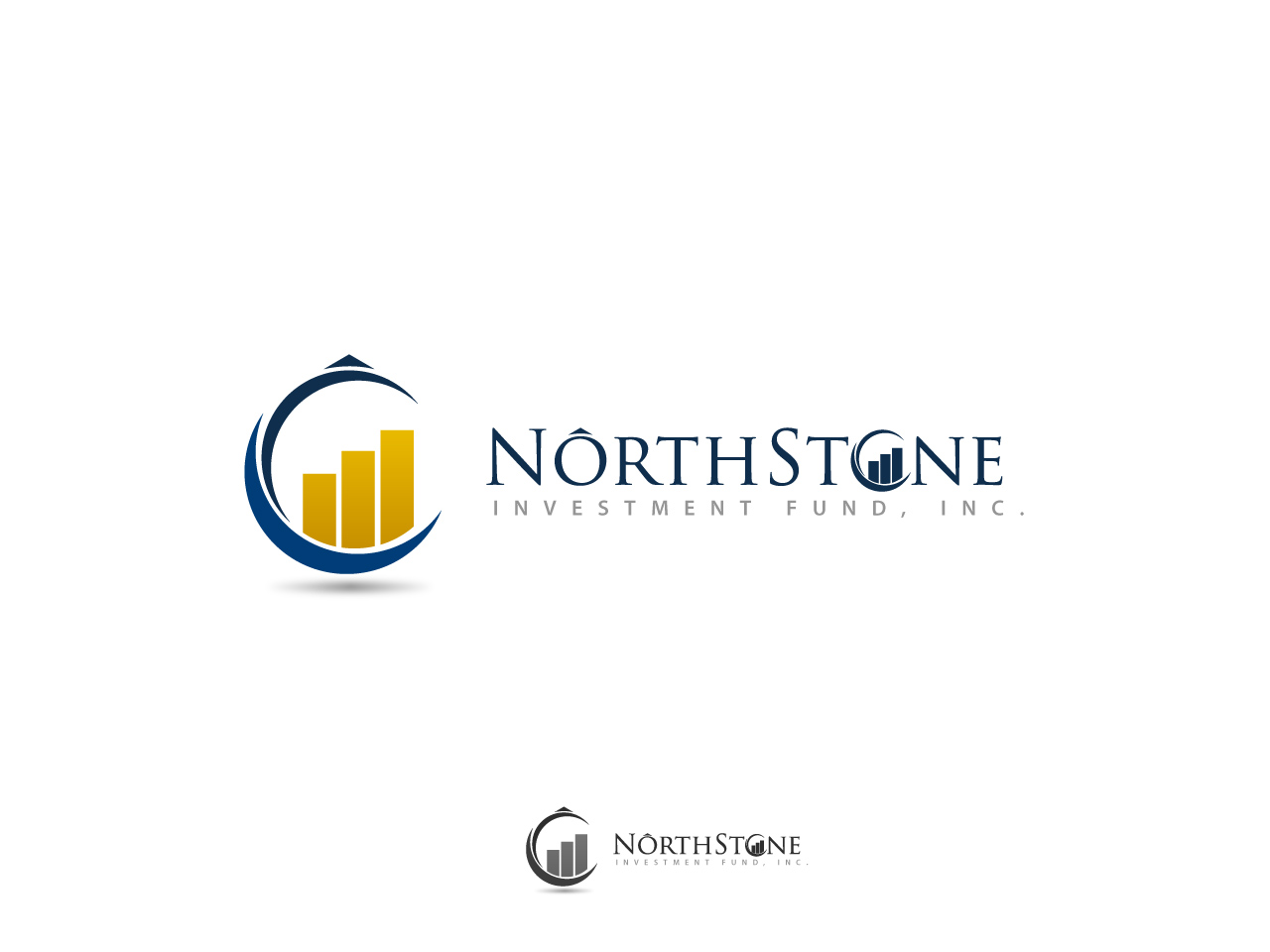 Logo Design by jpbituin - Entry No. 1 in the Logo Design Contest Unique Logo Design Wanted for NorthStone Investment Fund Inc.