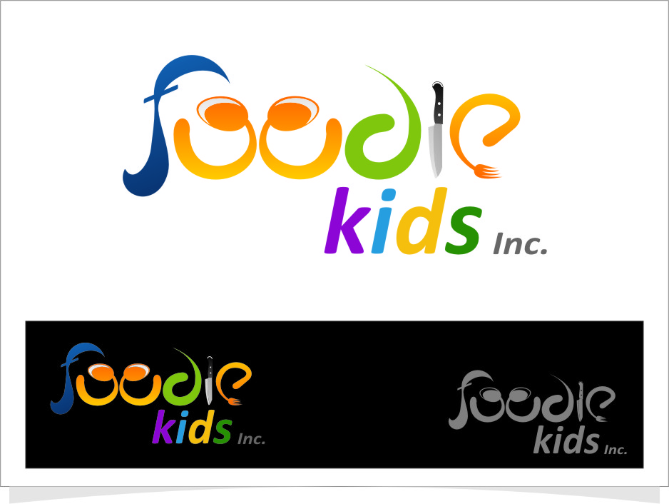 Logo Design by Ngepet_art - Entry No. 11 in the Logo Design Contest New Logo Design for Foodie Kids Inc..