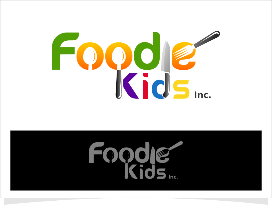 Logo Design by RasYa Muhammad Athaya - Entry No. 14 in the Logo Design Contest New Logo Design for Foodie Kids Inc..