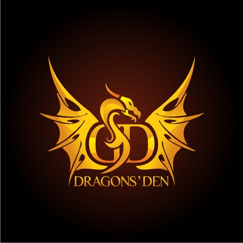 Logo Design by OverDozes - Entry No. 47 in the Logo Design Contest The Dragons' Den needs a new logo.