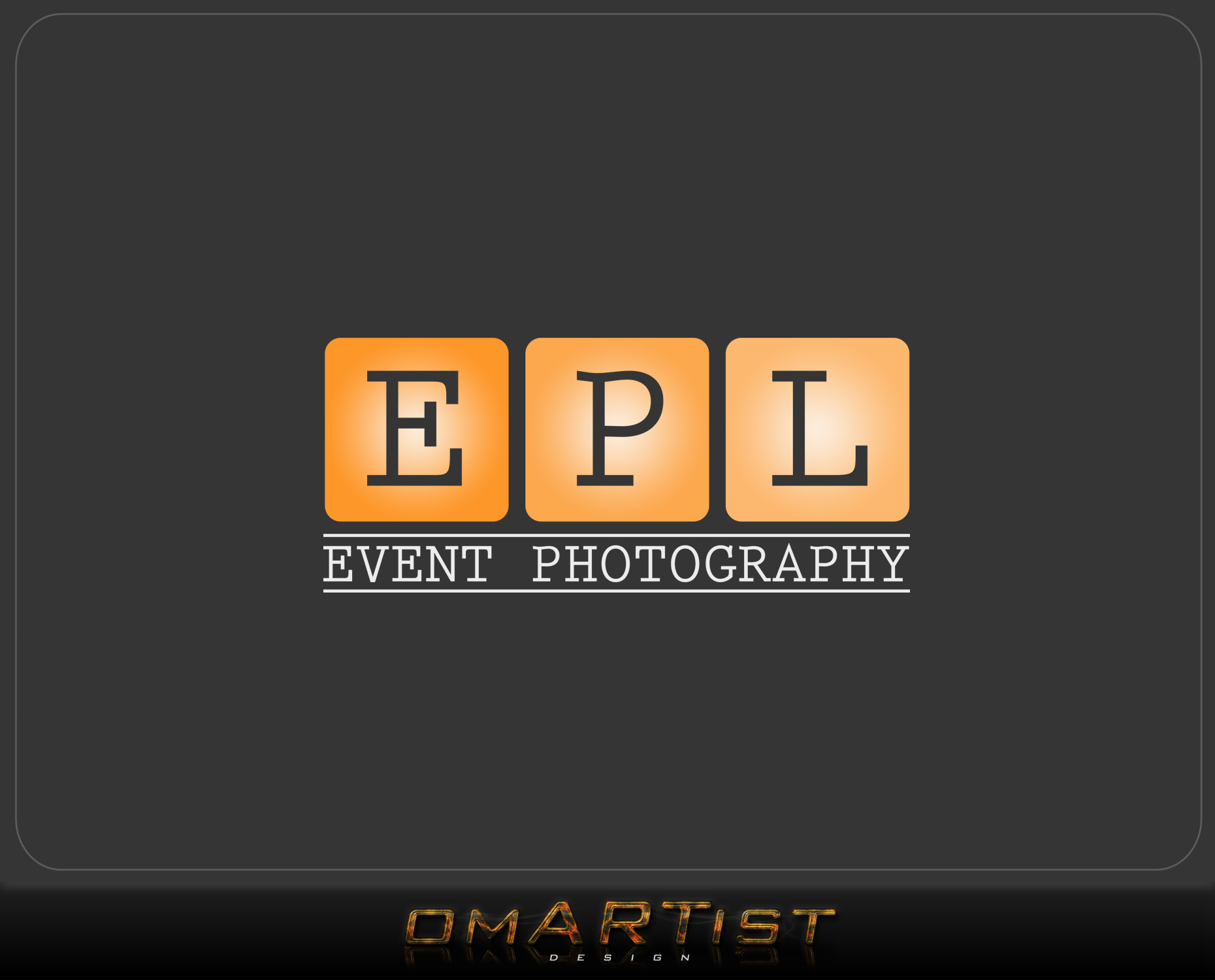 Logo Design by omARTist - Entry No. 122 in the Logo Design Contest New Logo Design for EPL Event Photography.