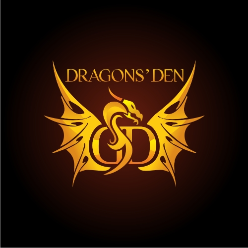 Logo Design by OverDozes - Entry No. 48 in the Logo Design Contest The Dragons' Den needs a new logo.