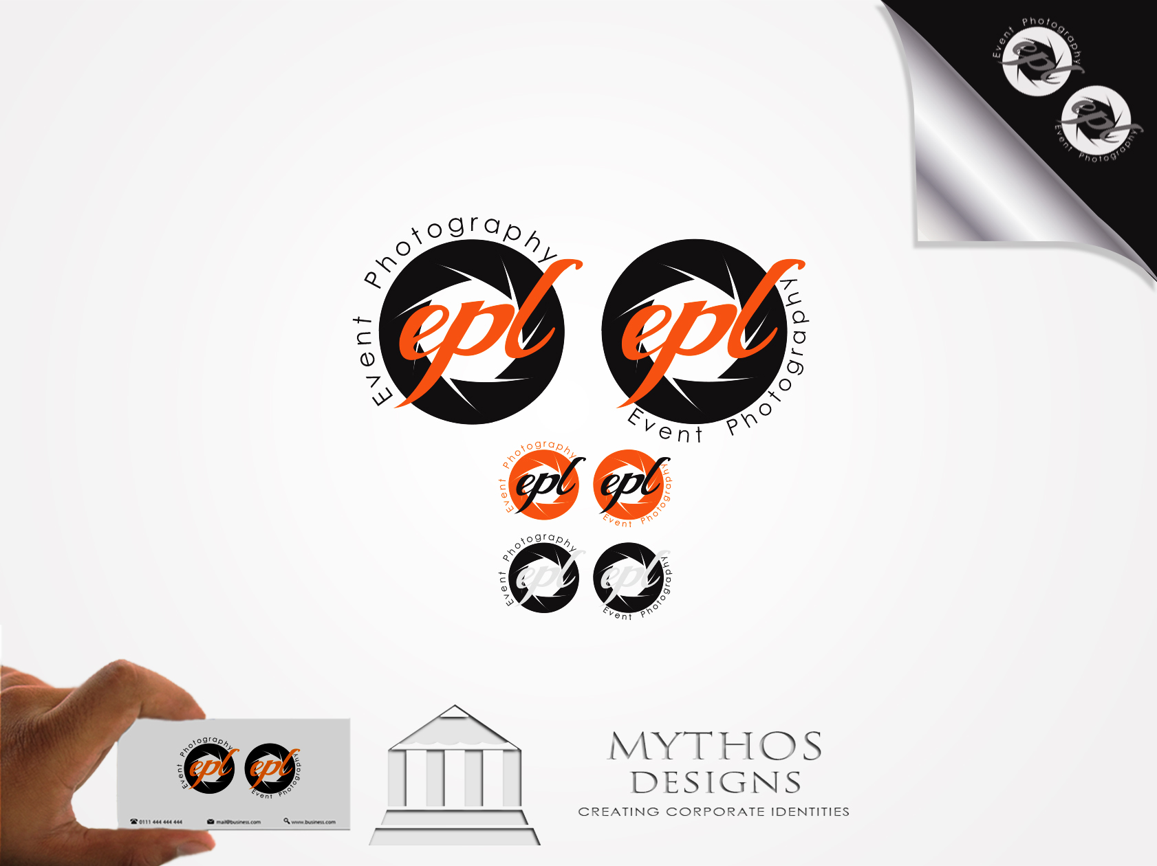 Logo Design by Mythos Designs - Entry No. 125 in the Logo Design Contest New Logo Design for EPL Event Photography.