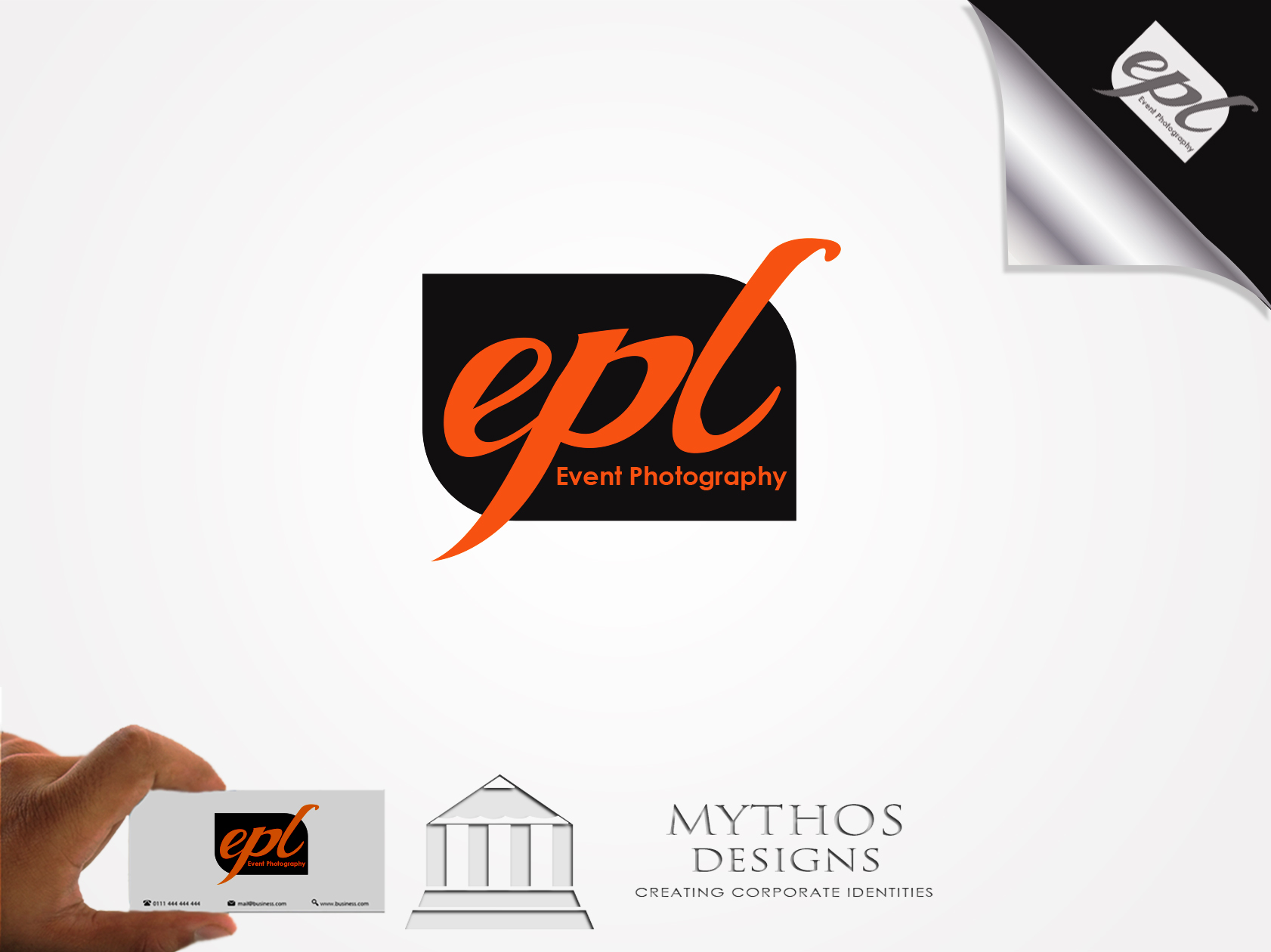 Logo Design by Mythos Designs - Entry No. 128 in the Logo Design Contest New Logo Design for EPL Event Photography.