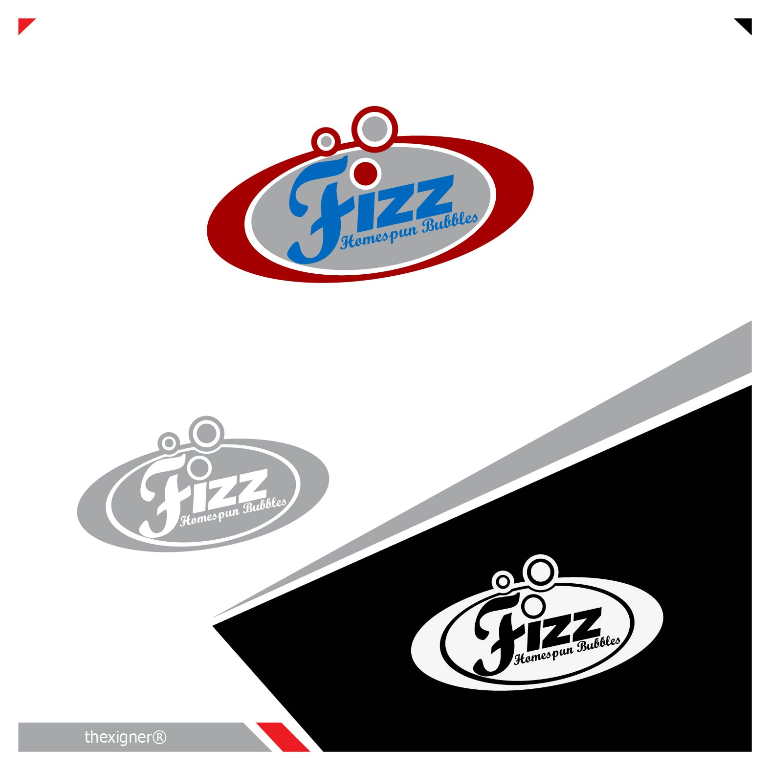 Logo Design by lagalag - Entry No. 23 in the Logo Design Contest Unique Logo Design Wanted for Fizz.
