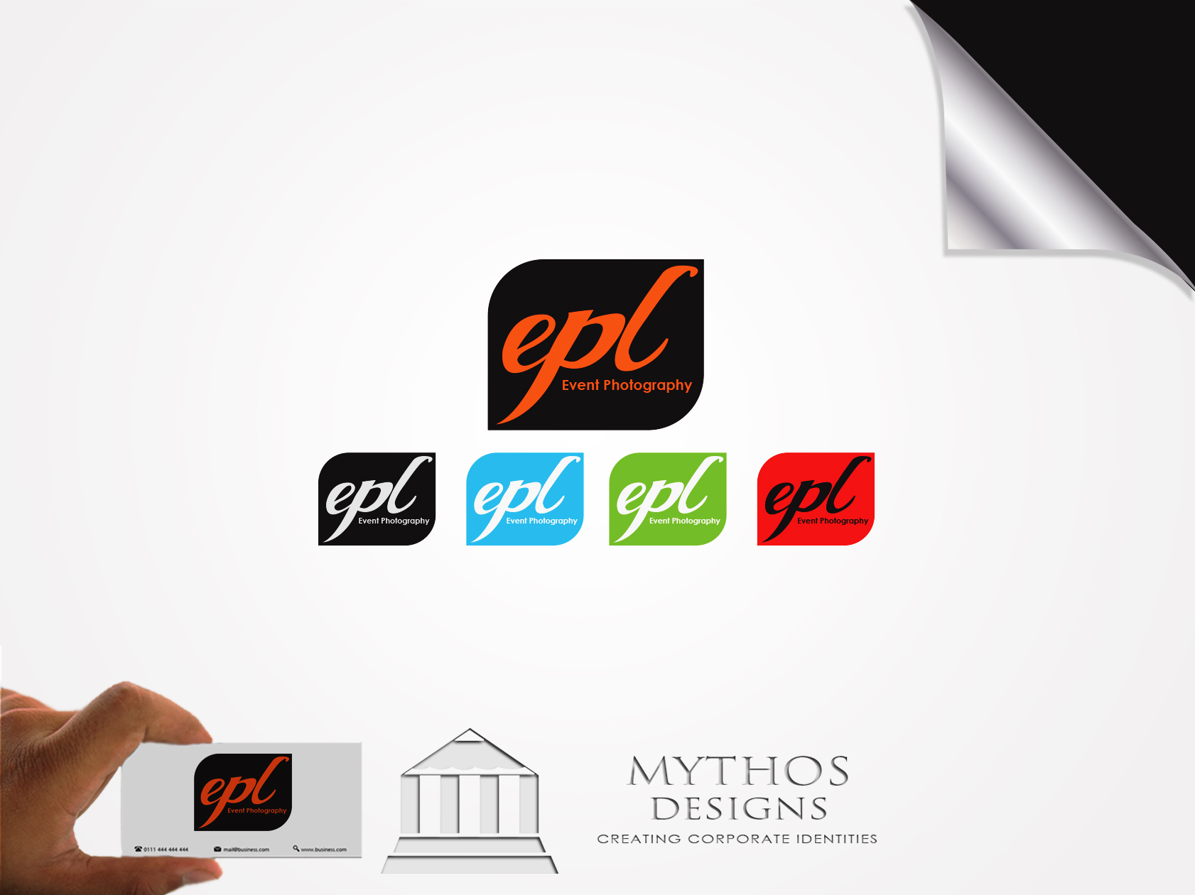 Logo Design by Mythos Designs - Entry No. 132 in the Logo Design Contest New Logo Design for EPL Event Photography.