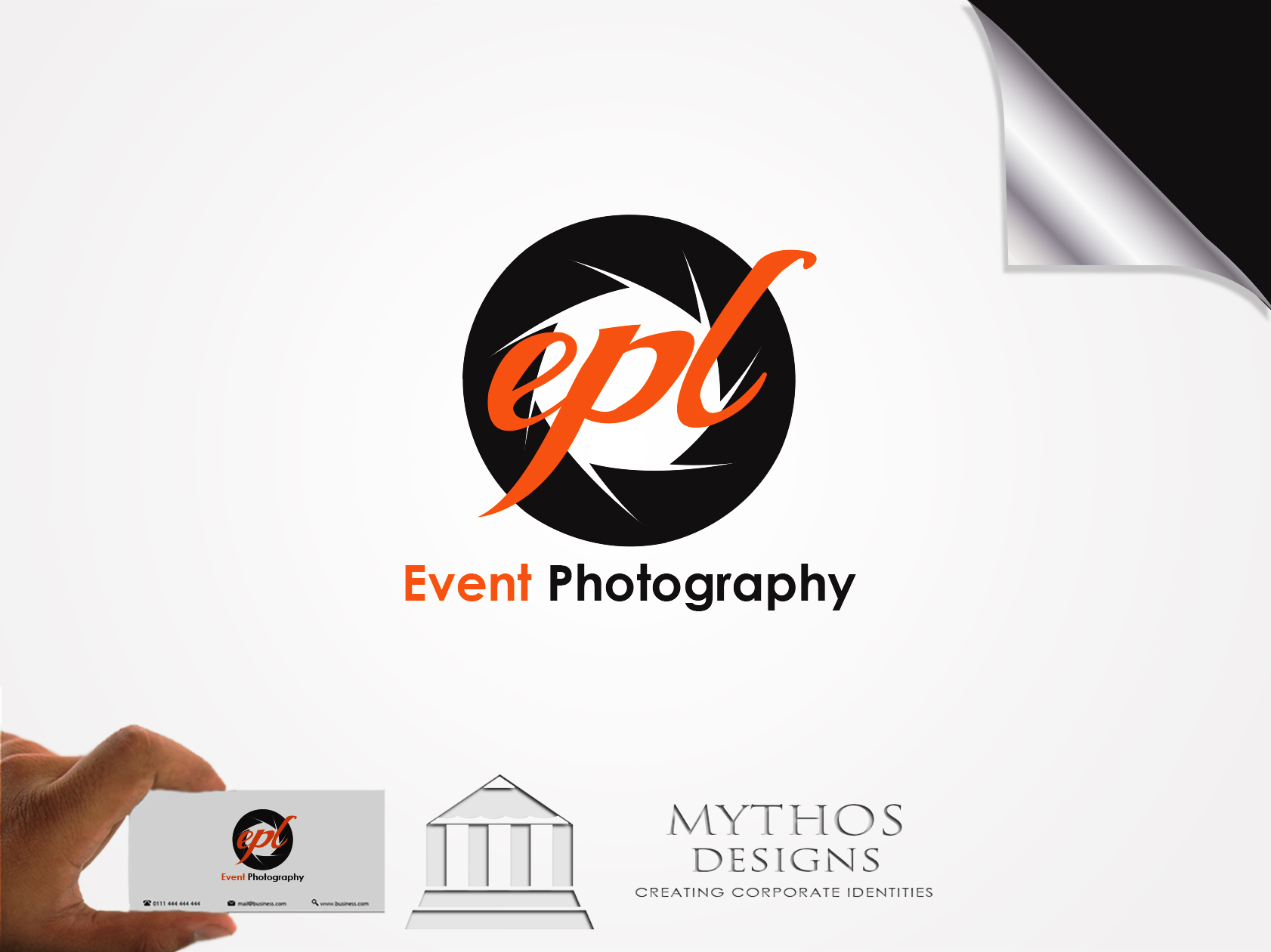 Logo Design by Mythos Designs - Entry No. 133 in the Logo Design Contest New Logo Design for EPL Event Photography.