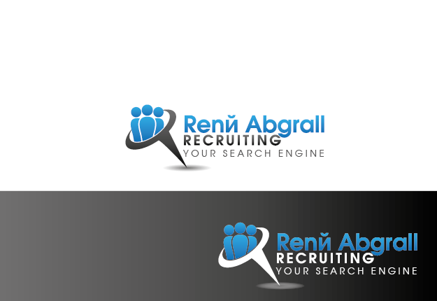 Logo Design by Private User - Entry No. 13 in the Logo Design Contest Artistic Logo Design for René Abgrall Recruiting.