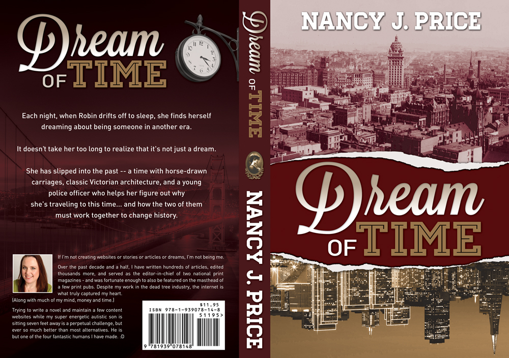 Book Cover Design by nausigeo - Entry No. 23 in the Book Cover Design Contest Fun Book Cover Design for Dream of Time.