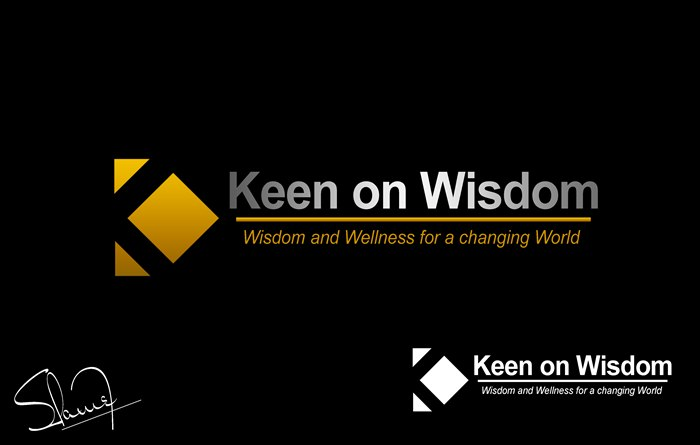 Logo Design by Respati Himawan - Entry No. 75 in the Logo Design Contest Logo Design for Keen on Wisdom, Keen for Life, Keen 4 Life.