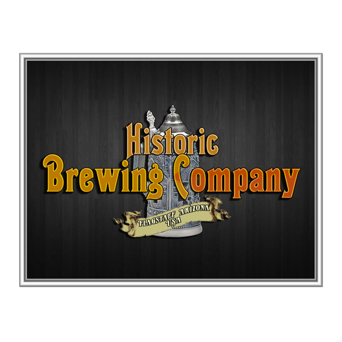 Logo Design by MITUCA ANDREI - Entry No. 40 in the Logo Design Contest Unique Logo Design Wanted for Historic Brewing Company.