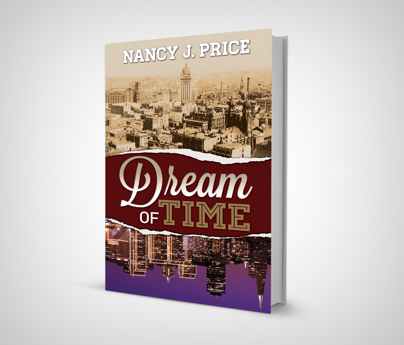 Book Cover Design by nausigeo - Entry No. 29 in the Book Cover Design Contest Fun Book Cover Design for Dream of Time.