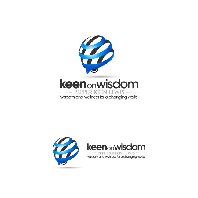 Logo Design by zesthar - Entry No. 84 in the Logo Design Contest Logo Design for Keen on Wisdom, Keen for Life, Keen 4 Life.
