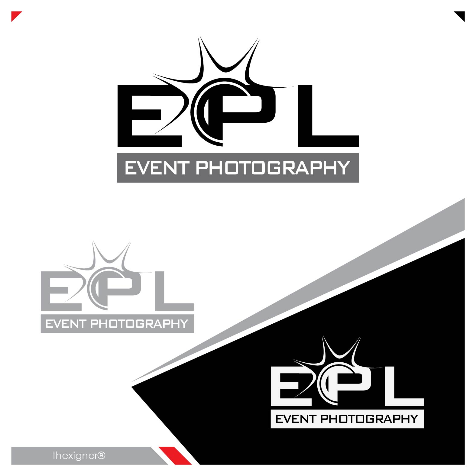 Logo Design by lagalag - Entry No. 177 in the Logo Design Contest New Logo Design for EPL Event Photography.