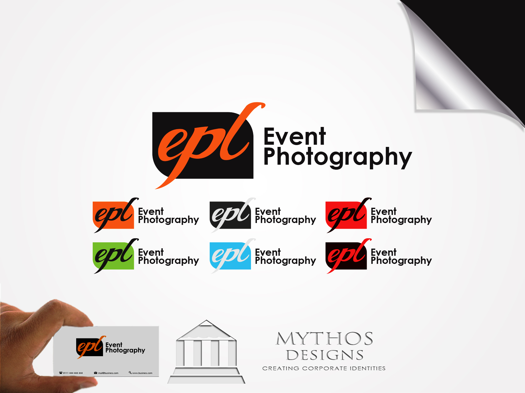Logo Design by Mythos Designs - Entry No. 180 in the Logo Design Contest New Logo Design for EPL Event Photography.