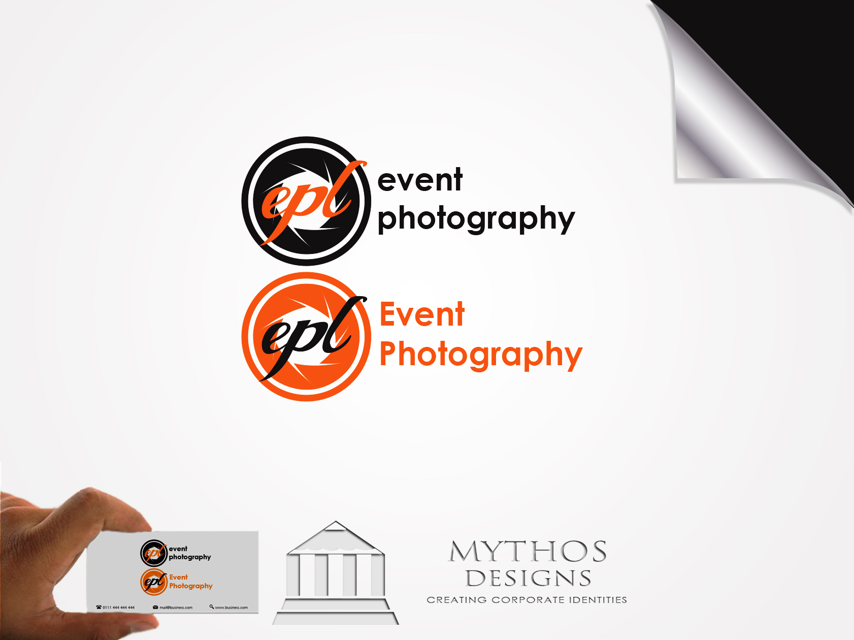 Logo Design by Mythos Designs - Entry No. 182 in the Logo Design Contest New Logo Design for EPL Event Photography.