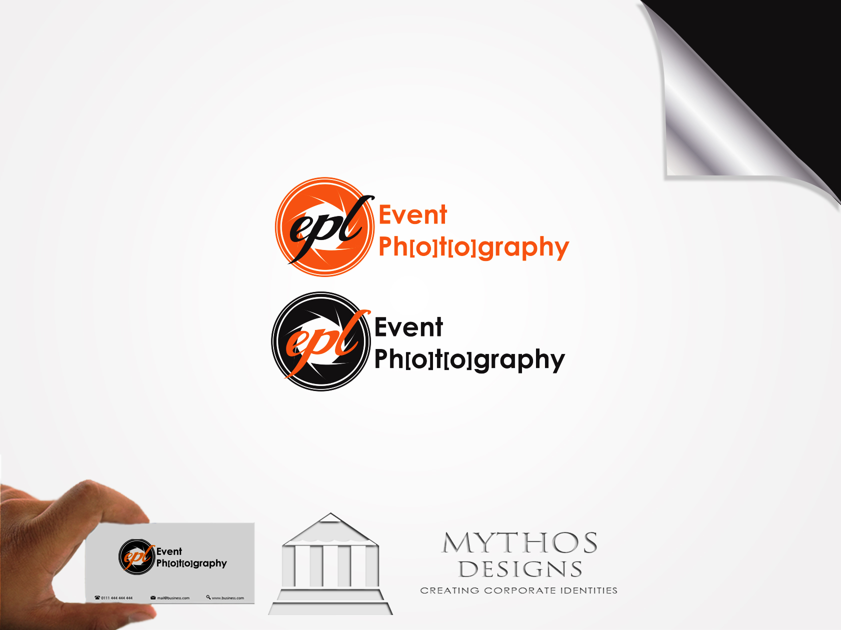 Logo Design by Mythos Designs - Entry No. 183 in the Logo Design Contest New Logo Design for EPL Event Photography.