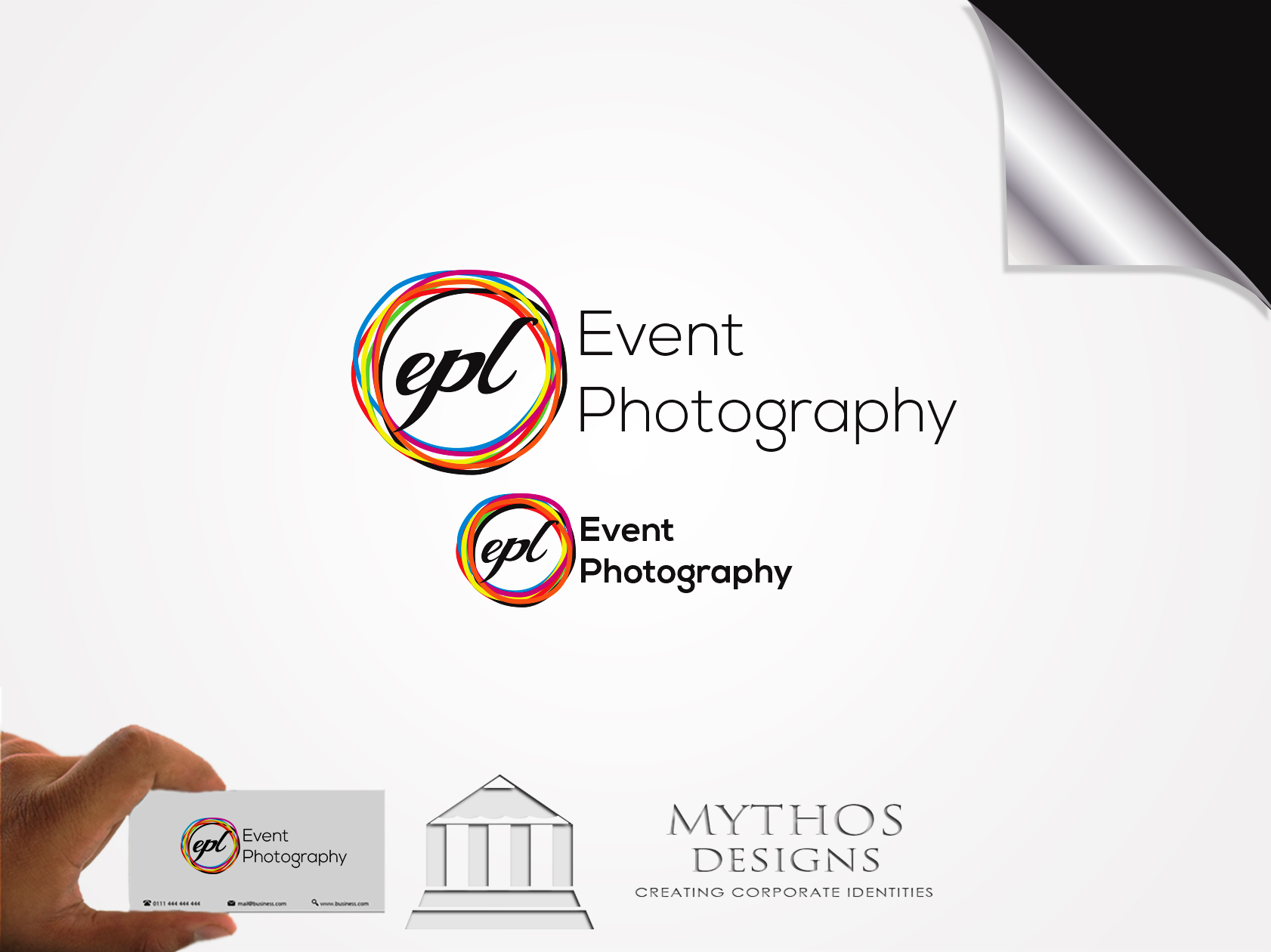 Logo Design by Mythos Designs - Entry No. 184 in the Logo Design Contest New Logo Design for EPL Event Photography.