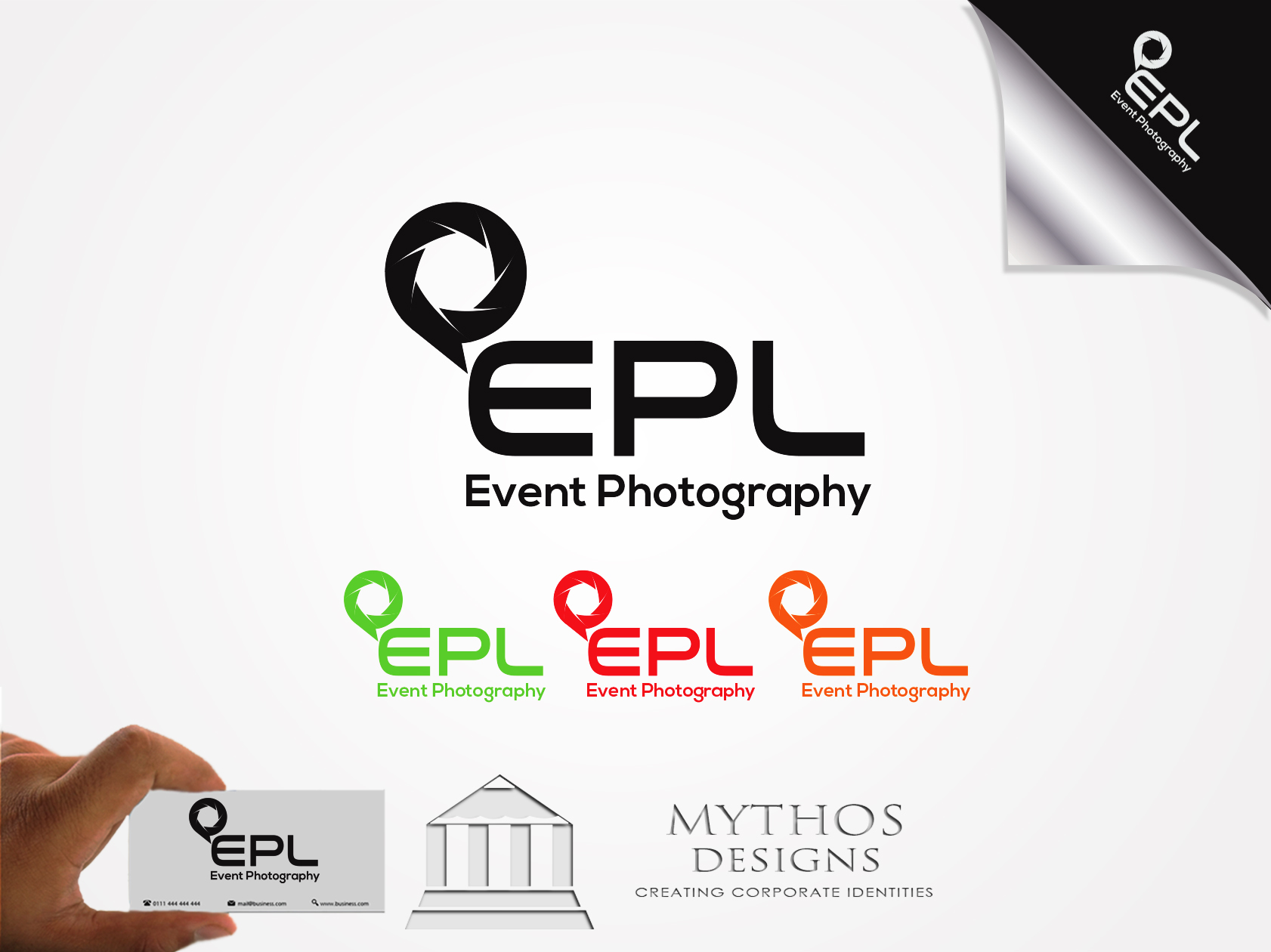 Logo Design by Mythos Designs - Entry No. 196 in the Logo Design Contest New Logo Design for EPL Event Photography.