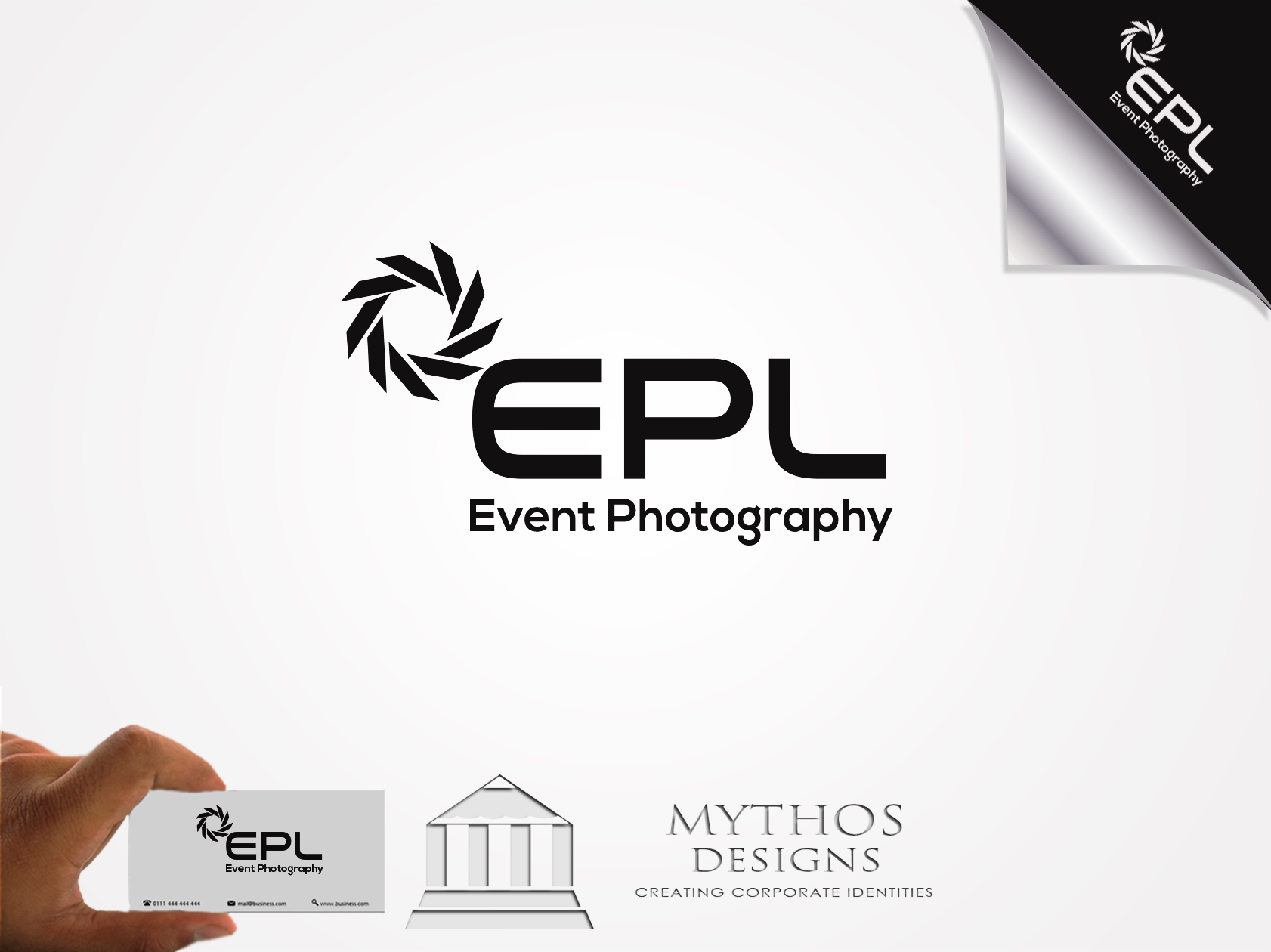Logo Design by Mythos Designs - Entry No. 198 in the Logo Design Contest New Logo Design for EPL Event Photography.