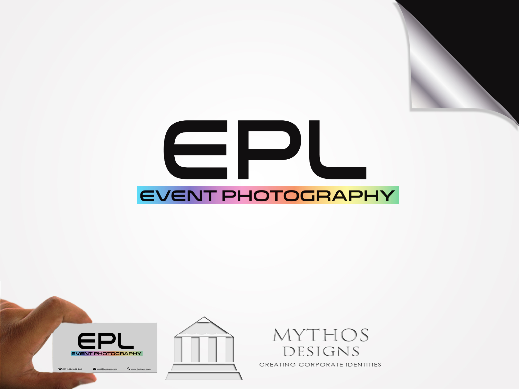 Logo Design by Mythos Designs - Entry No. 200 in the Logo Design Contest New Logo Design for EPL Event Photography.