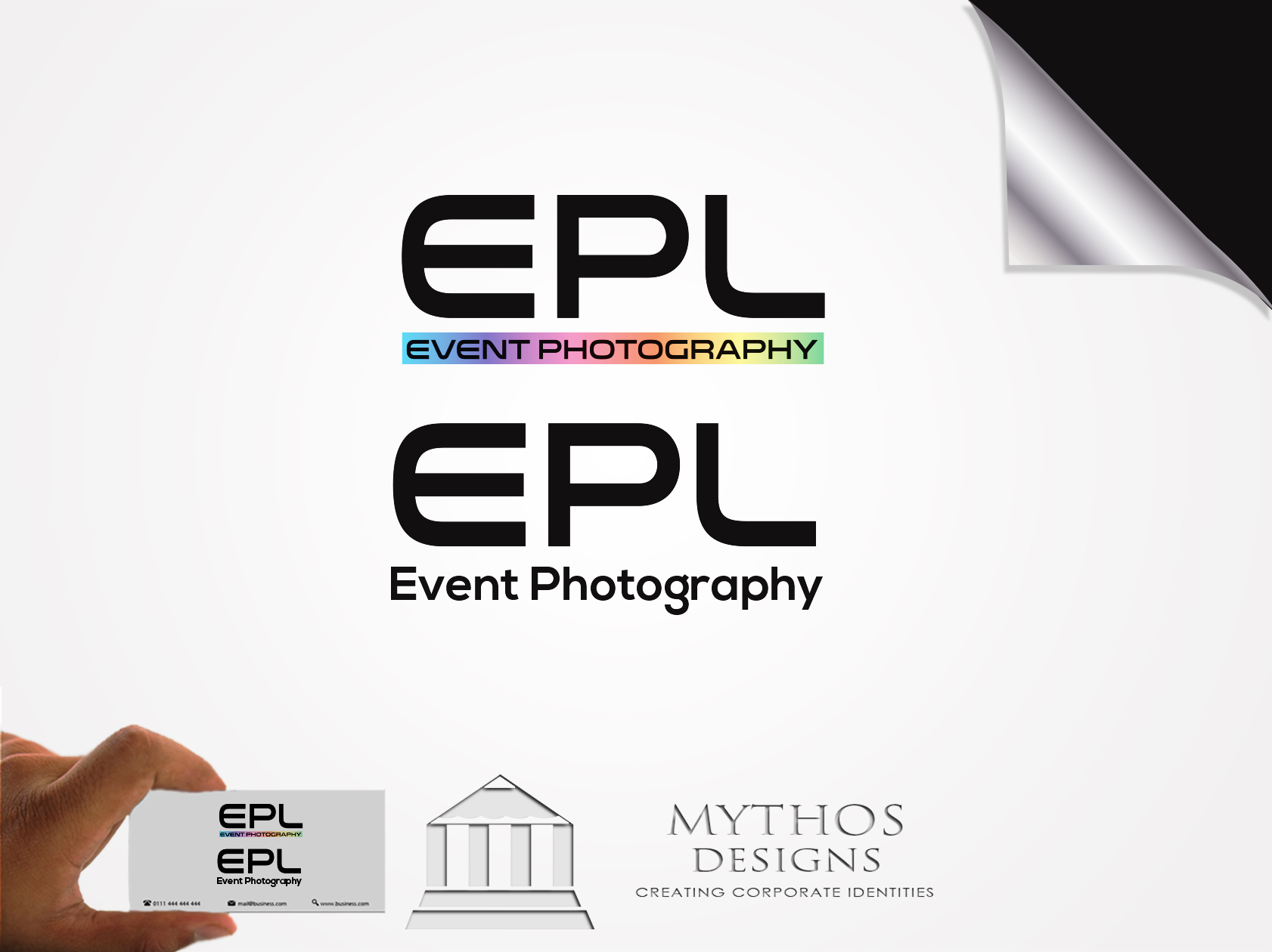 Logo Design by Mythos Designs - Entry No. 201 in the Logo Design Contest New Logo Design for EPL Event Photography.