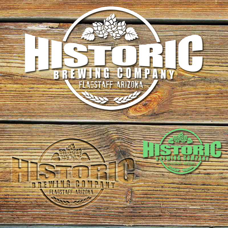 Logo Design by Private User - Entry No. 46 in the Logo Design Contest Unique Logo Design Wanted for Historic Brewing Company.