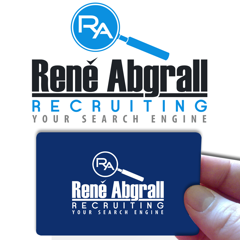 Logo Design by Private User - Entry No. 21 in the Logo Design Contest Artistic Logo Design for René Abgrall Recruiting.
