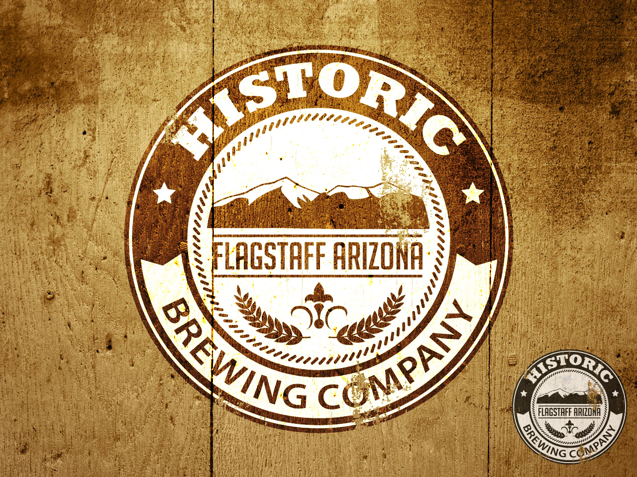 Logo Design by jpbituin - Entry No. 52 in the Logo Design Contest Unique Logo Design Wanted for Historic Brewing Company.