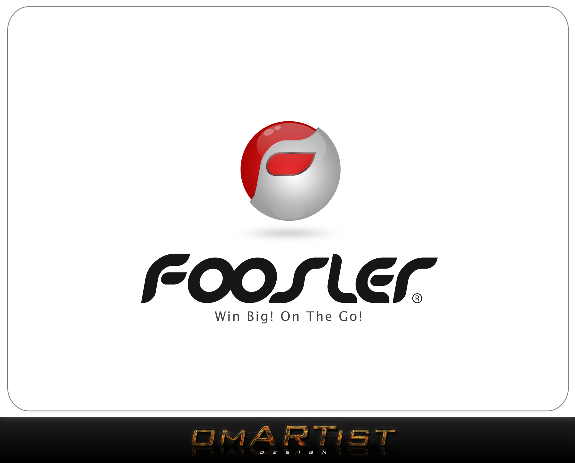 Logo Design by omARTist - Entry No. 44 in the Logo Design Contest Foosler Logo Design.