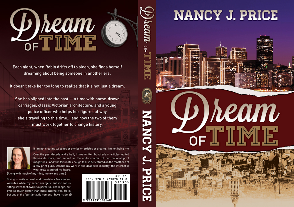 Book Cover Design by nausigeo - Entry No. 32 in the Book Cover Design Contest Fun Book Cover Design for Dream of Time.