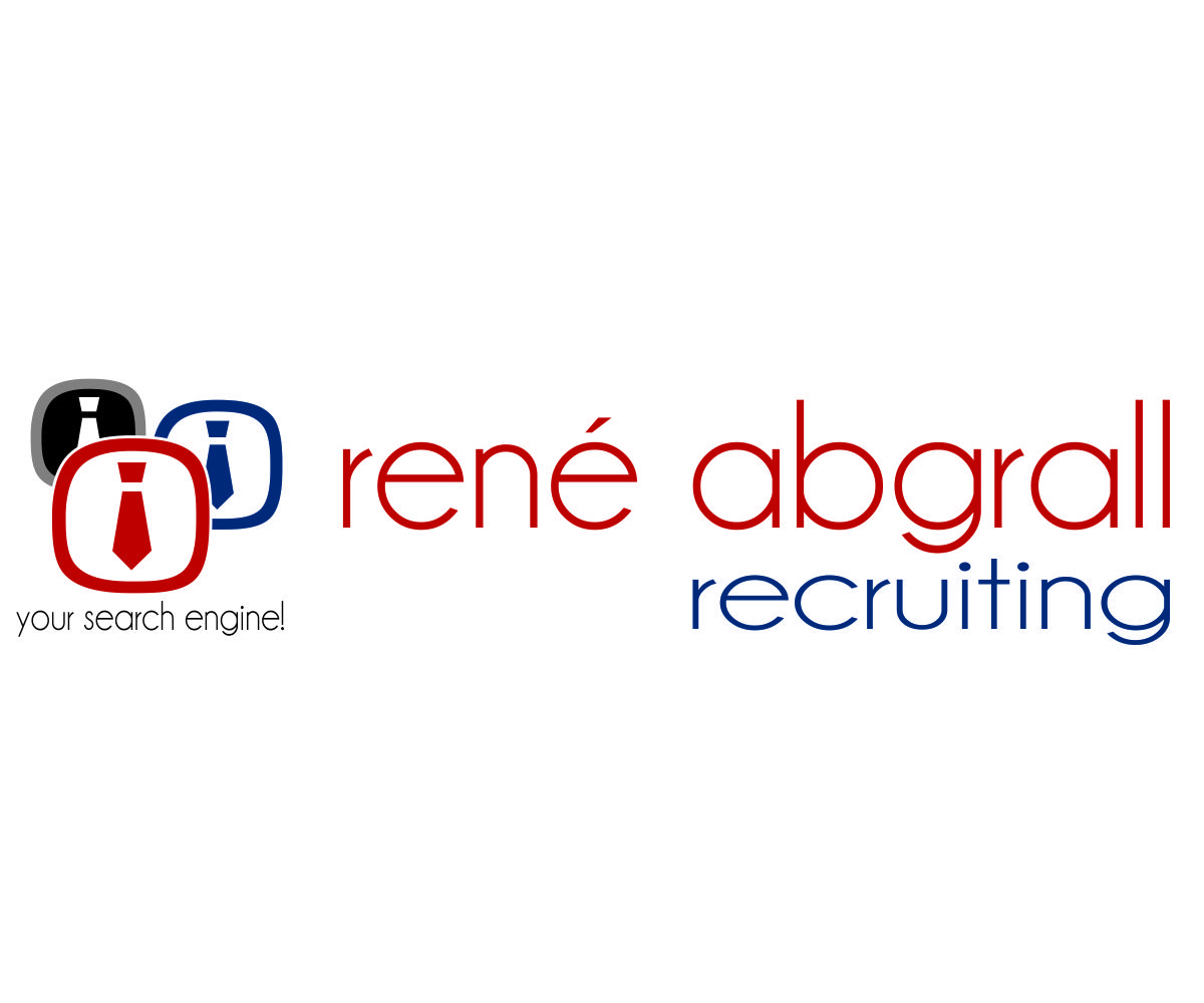 Logo Design by franz - Entry No. 25 in the Logo Design Contest Artistic Logo Design for René Abgrall Recruiting.