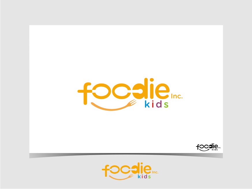 Logo Design by graphicleaf - Entry No. 20 in the Logo Design Contest New Logo Design for Foodie Kids Inc..