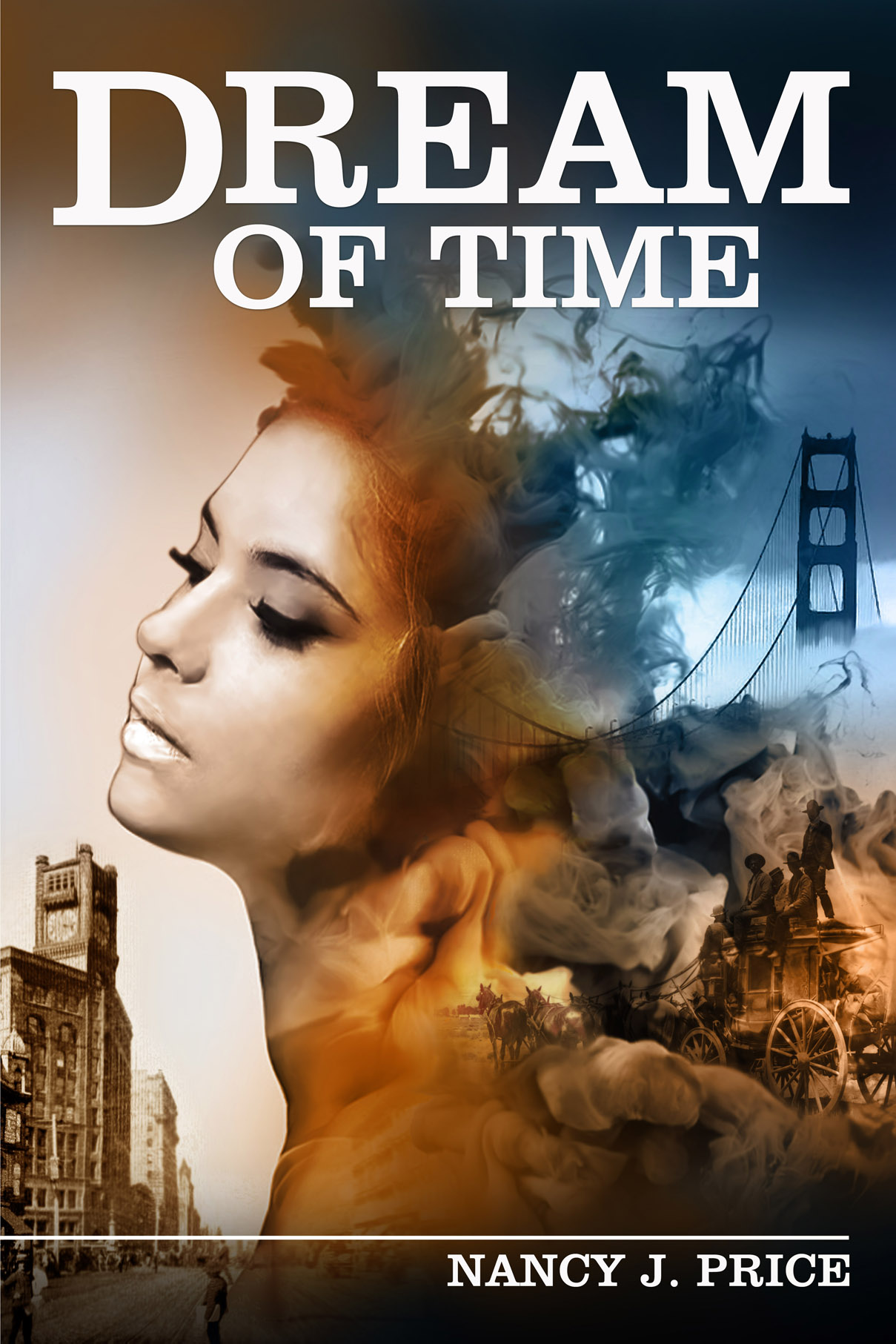 Book Cover Design by Mark Anthony Moreto Jordan - Entry No. 36 in the Book Cover Design Contest Fun Book Cover Design for Dream of Time.