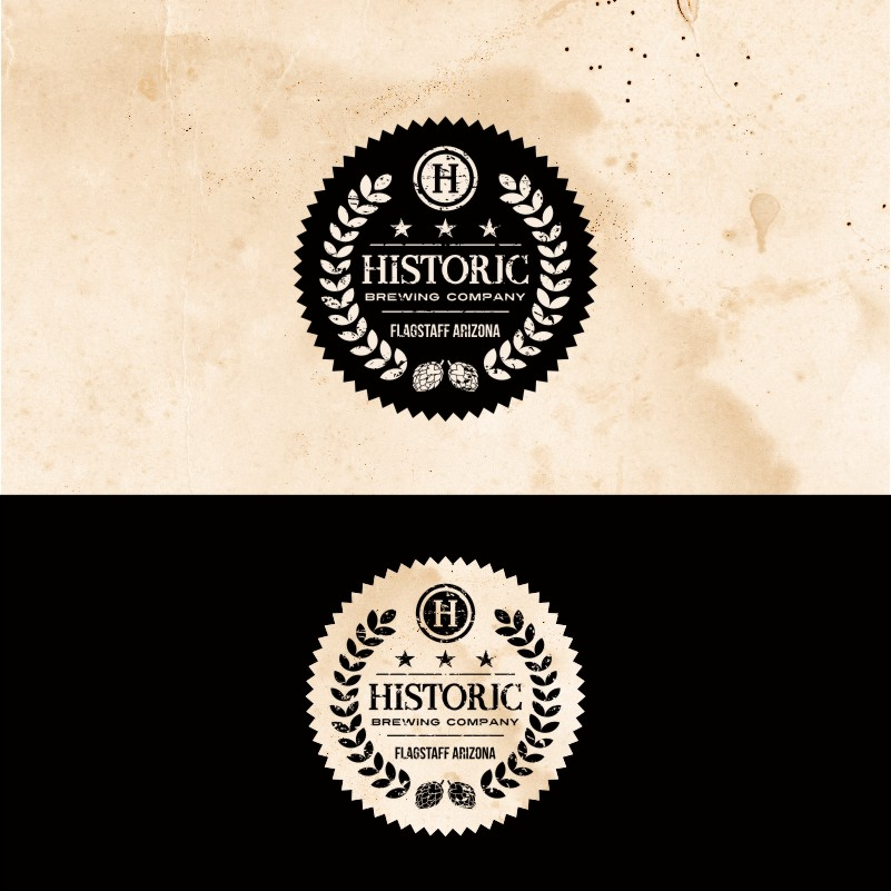 Logo Design by Private User - Entry No. 63 in the Logo Design Contest Unique Logo Design Wanted for Historic Brewing Company.